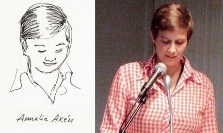 Den svenske forfatteren Annelie Axén.
