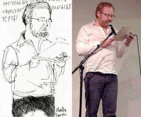 Danske Martin Larsen, også kalt binærkodemannen.