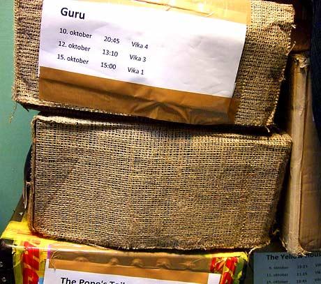 Filmkasser med strie kommer ofte fra India.