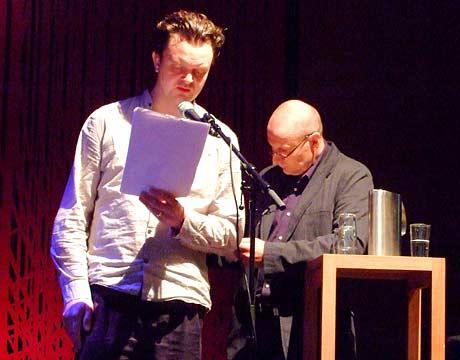 Gunnar Wærness oversetter Sigitas Parulskis (Litauen) til norsk.