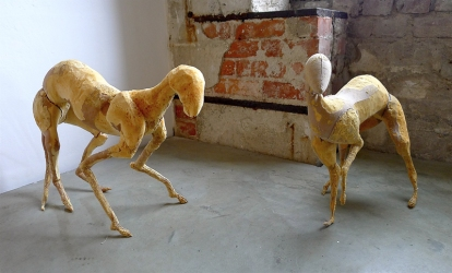 Ida Lennartsson: «Skinny» & «Gold» (2008). Foto: Oda Bhar.