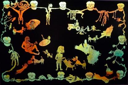 """Detalj fra Jes Brinch: """"Death"""" (2006). Foto: Oda Bhar."""