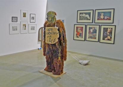 "Kristian Øverland Dahl: ""Ape Looking for a Cage"" (2007). Foto: Oda Bhar."