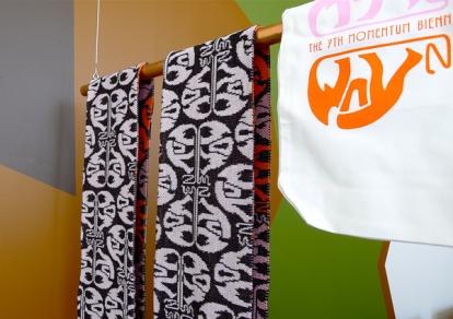 Bjørn-Kowalski Hansen har designet årets Momentum-logo. Foto: Oda Bhar.