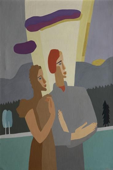 Charlotte Wankel: «Portrett» (1940). Foto: Terje Holm.