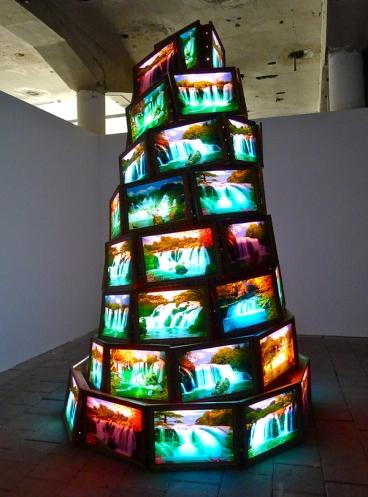 Goran Hassanpour: «Babels tårn.» (Foto: Oda Bhar)