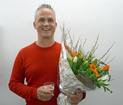 Glad vinner av Fotokunstprisen 2014 ble Ole Hagen. Foto: Oda Bhar.