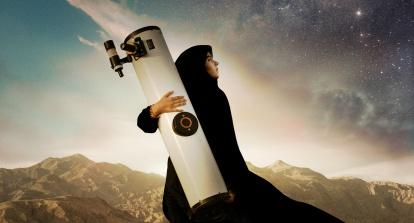 Fra filmen «Sepideh – Reaching for the Stars» som er regissert av danske Berit Madsen og handler om ei iransk jente som kikker på stjerner og vil bli astronom – eller helst astronaut.