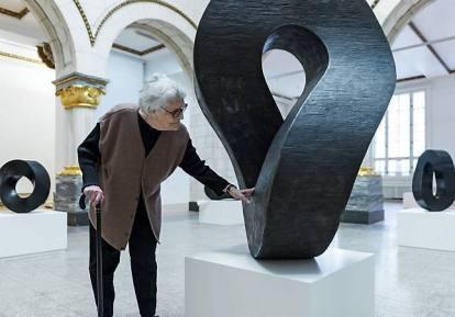 Aase Texmon Rygh har kommet i skyggen av de mannlige modernistene, og har ikke fått den plassen i offentligheten hun fortjener, til tross for at hun i dag er en anerkjent klassiker. Nå vises hennes verker i en stor utstilling på Samtidskunstmuseet. FOTO: ANNAR BJØRGLI / NASJONALMUSEET