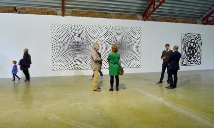 Bilder av Bjørn Ransve fra utstillingen «Back to Basics» på Vestfossen. Foto: Oda Bhar.