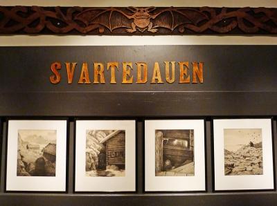 På årets Kittelsen-utstilling på Blaafarveværket er «Svartedauen» en av de mest interessante delene. Foto: Oda Bhar.